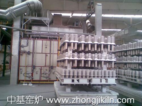 高压电瓷梭式窑