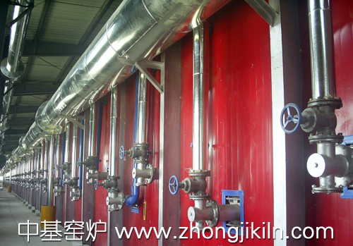 热煤气主管道及分管道保温