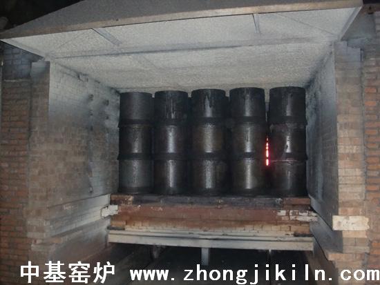 本溪中兴铁厂105米宽断面高炉煤气隧道窑图片