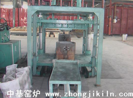 生产碳化硅罐压机模具一角