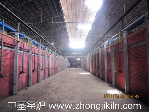 红土镍矿海绵铁隧道窑2