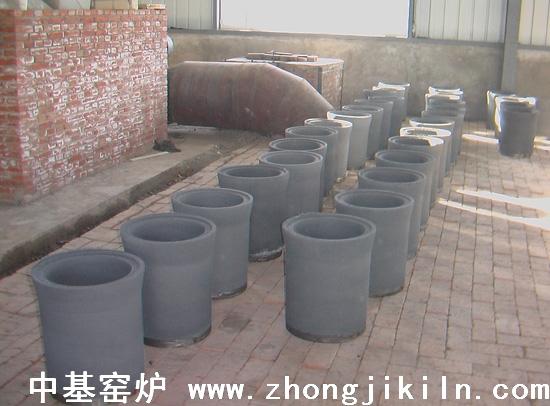 碳化硅罐成型干燥处一角