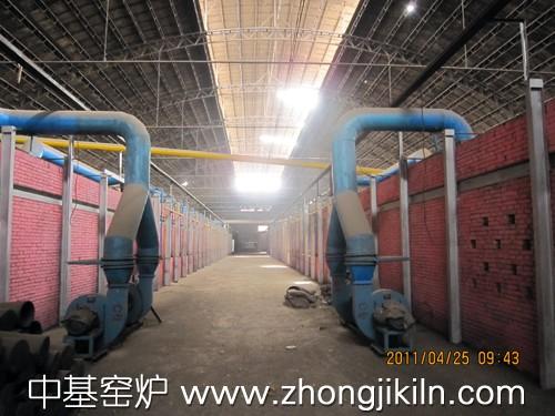 红土镍矿海绵铁隧道窑生产线