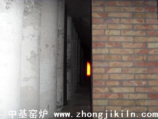 新疆克州众维182米天然气钒钛磁铁矿海绵铁易胜博首页生产中窑头一角