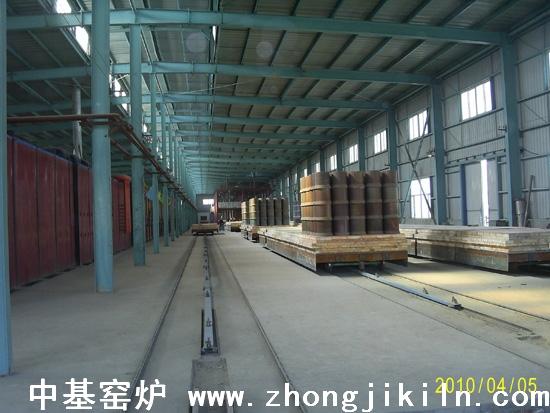 炼钢海绵铁隧道窑工艺图片