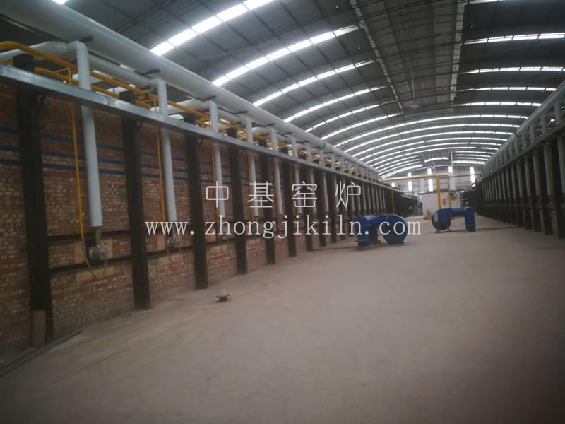 硅砖隧道窑