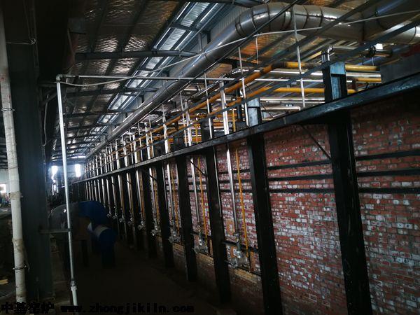 洛阳迈乐全智能控制零膨胀高档硅砖隧道窑工程