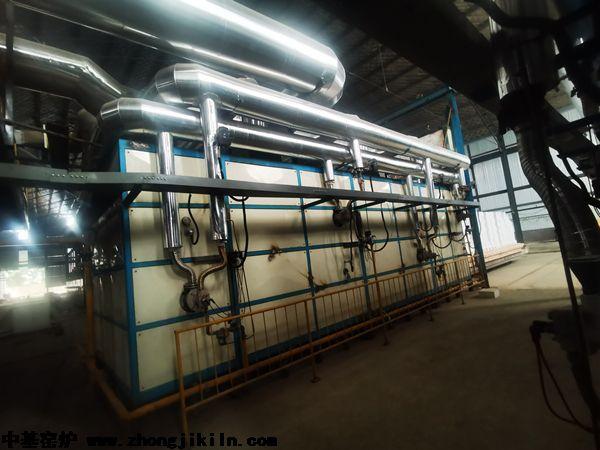 洛阳迈乐20立方米高效节能梭式窑工程